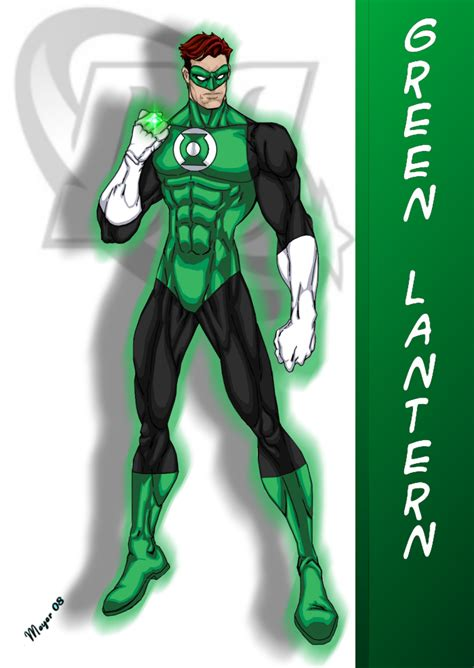 Green Latern Dc Comic green lantern drawing