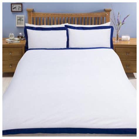 tesco bed linen buy tesco oxford edge duvet set from our king