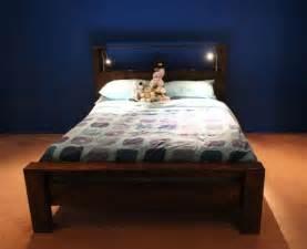 Bed Frame Lights 20 Diy Bed Frames To Meet Your Sleeping Comfort Needs