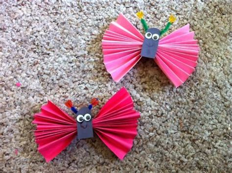 Butterfly Construction Paper Craft - 13 best images about learning on