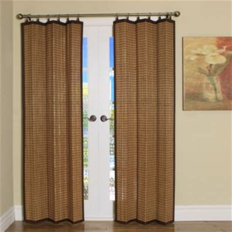 bamboo window curtains buy bamboo window treatments from bed bath beyond