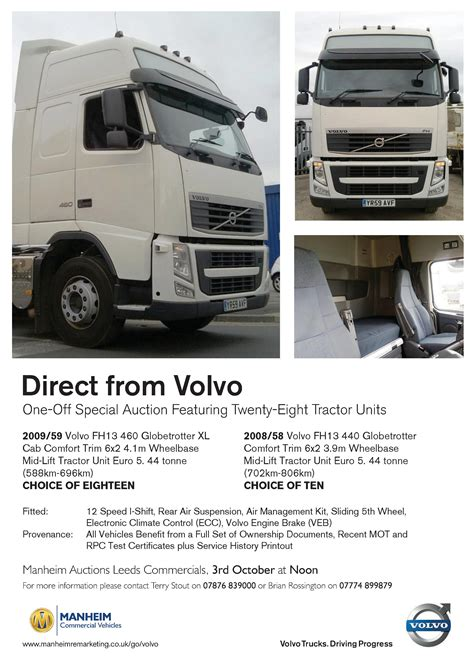 volvo trucks  branded auction  success commercial