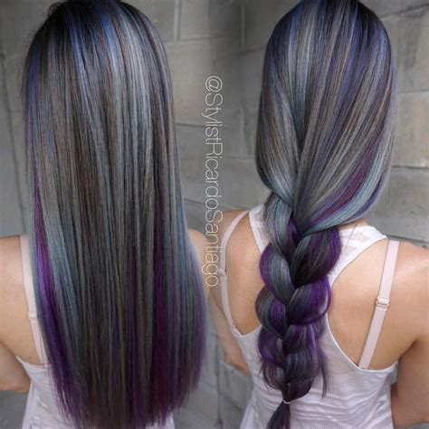 how to blend hair color hair gray blending hairstylegalleries com