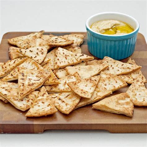 freshfromevaskitchen homemade pita chips with olive pita chip recipe popsugar food