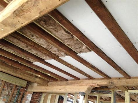 Fixing Plasterboard To Ceiling Joists by 8 Olives Stores Part 2 Refurbishment How