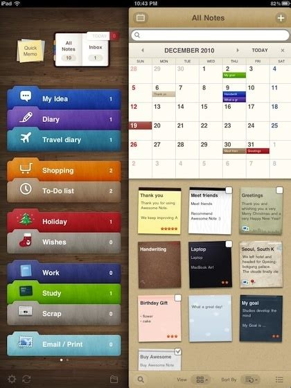 best organizational apps the awesome note app for iphone and ipad is the best