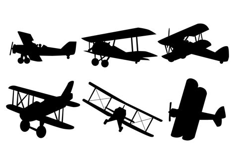 airplane silhouette clip airplane silhouette clipart best