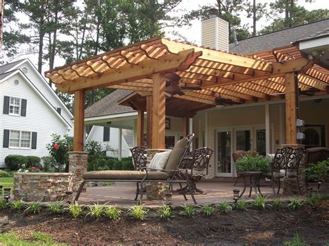 Pergolas   New Orleans Pergola Designs   Custom Outdoor
