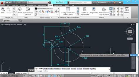 tutorial de autocad 2014 videotutorial autocad 2014 usar herramientas de zoom en
