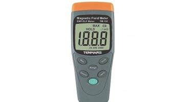 Kulkas Portable Medan magnetic field meter gauss meter tm 191