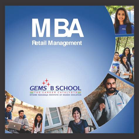 Mba Retail Management Colleges by Gems B School Gems Bangalore Admissions Contact