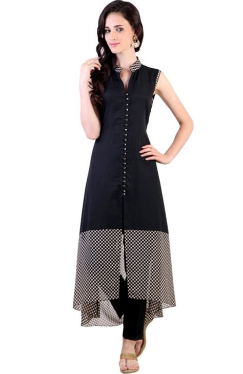 new pattern long kurti latest designer kurtis with different cut types looksgud in