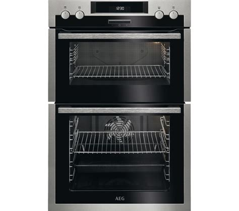 multifunction microwave oven stainless steel buy aeg dcs431110m electric double oven stainless steel