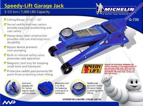 michelin g735 floor manual garage hong kong car jacks