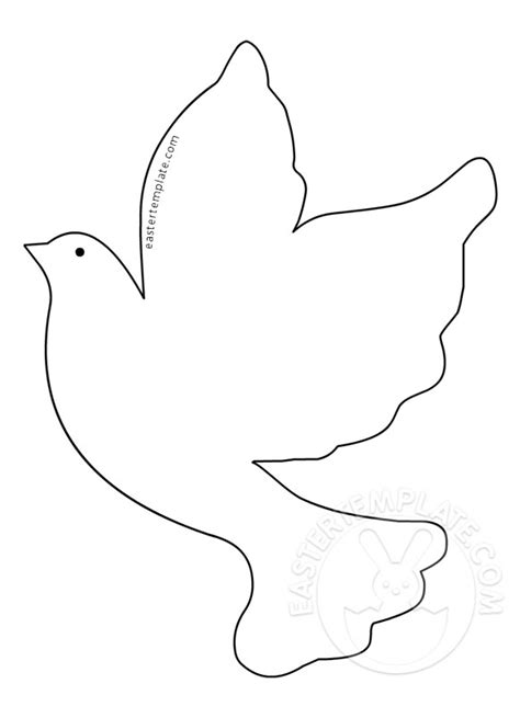 dove template holy spirit dove coloring sheet coloring pages