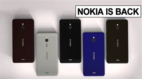 new android phones nokia officially confirms return of new android smartphones in 2017