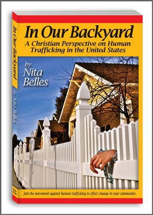 in our backyard non fiction human trafficking