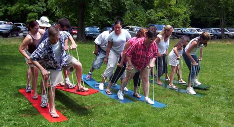 themes for group games graduation party games company picnics kentucky ohio