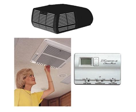 Ac Portable Lantai coleman rv air conditioner ceiling assembly cool only