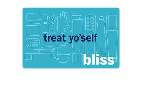 Bliss Spa Gift Card - bliss spa spa