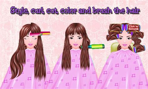haircut quiz games free girls game hair salon android apps on google play