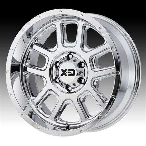 chrome xd wheels kmc xd series xd828 delta chrome custom wheels rims xd