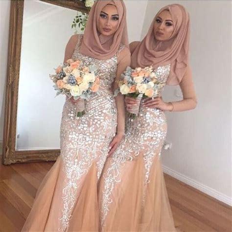 Atasan Mini Dress Renda 10 inspirasi gaun kebaya bridesmaid berhijab sopan dan