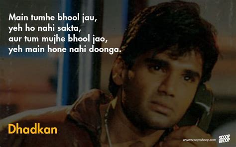 biography of movie dhadkan 12 super cheesy romantic dialogues that only sunil shetty