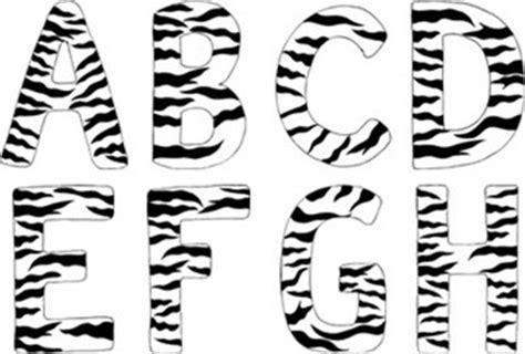 free printable zebra letters zebra letter clipart 42