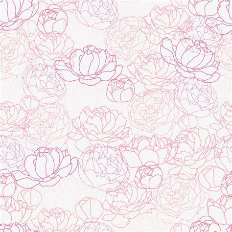 peony pattern font peonies seamless patterns patterns on creative market
