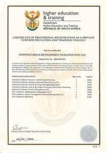 institutional accreditation dionysus