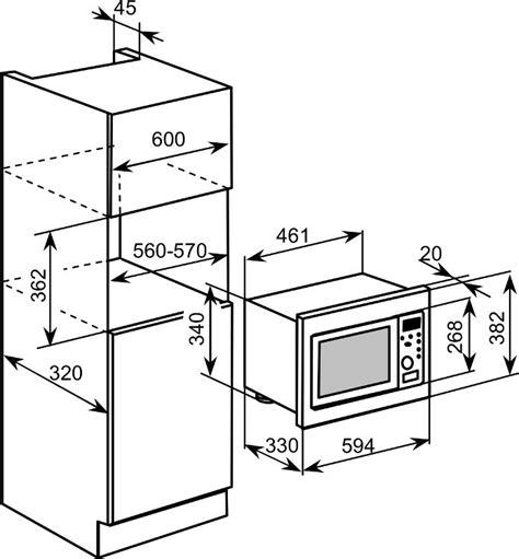 built in microwave cabinet dimensions buy baumatic bmm204ss built in microwave stainless steel