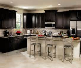 ordinary Dark Wood Kitchen Cabinets #1: sarsaparilla_cabinets_in_casual_kitchen.jpg