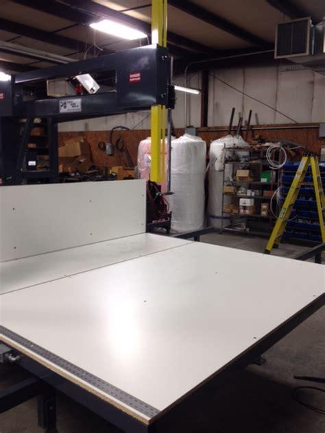 Vertical Foam Band  Pontotoc Machine Works Usa