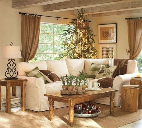 rustic country living room neutral colors i would a pop of orange or