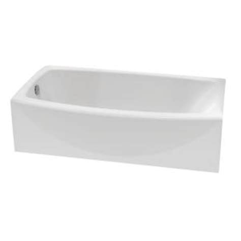 american standard ovation bathtub american standard ovation 5 ft left hand drain bathtub in
