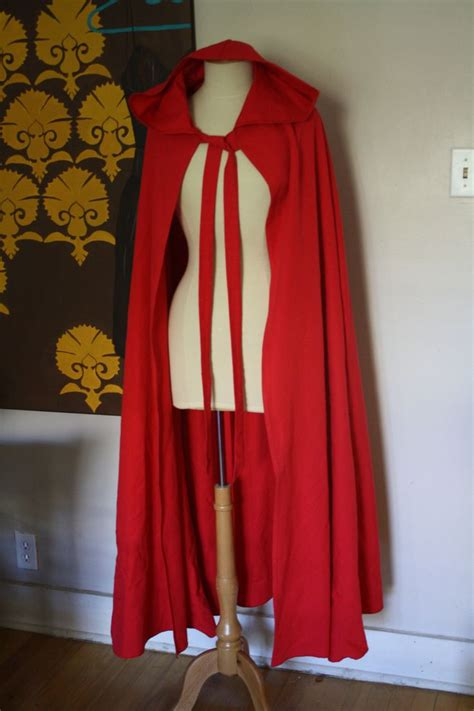 red riding hood cape  full length