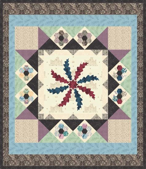 Downton Quilt Patterns by Birds Of A Feather