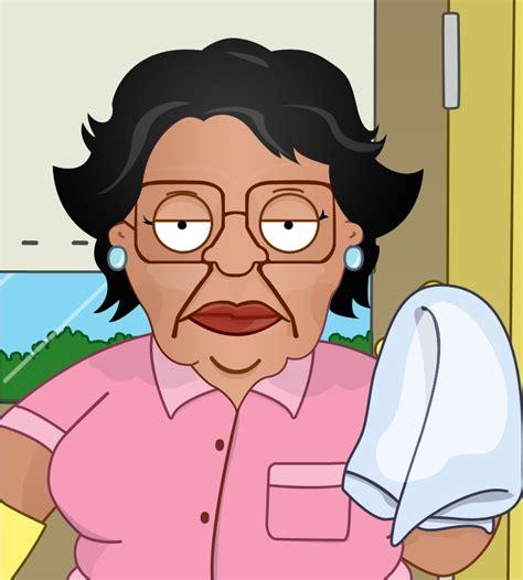 Family Guy Cleaning Lady Meme - family guy consuela no no
