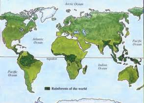 south america rainforest map forest where am i