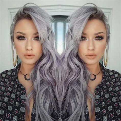 how to keep highlights looking good 25 new gray hair color