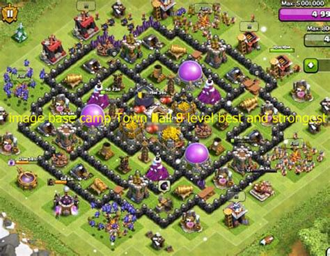best defense town hall level 8 2016 clash of clans best formation town hall level 5