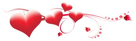 tgis valentines day s day hearts decoration transparent png clip