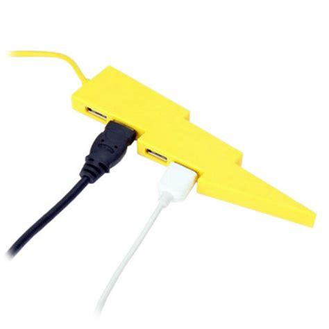 Usb Bolt kikkerland lightning bolt 4 port usb hub mobilefun