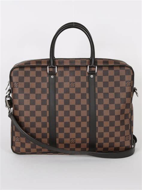 Louis Vuitton Porte 23355 louis vuitton porte documents voyage pm damier ebene luxury bags