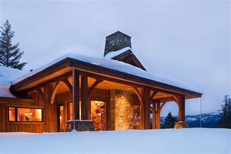 snow home mountain architects hendricks architecture idaho