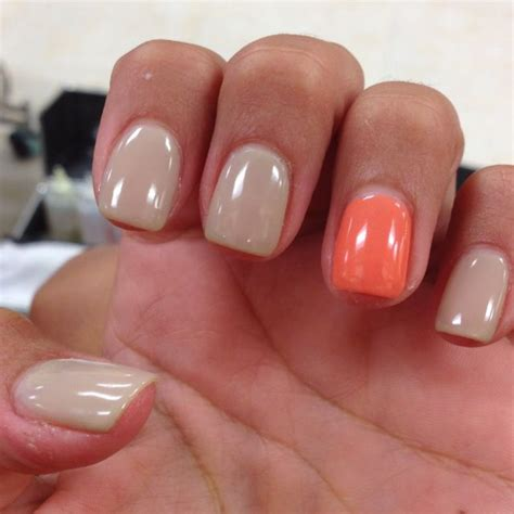 beige color nails gel nails beige coral stylin and proflin beige