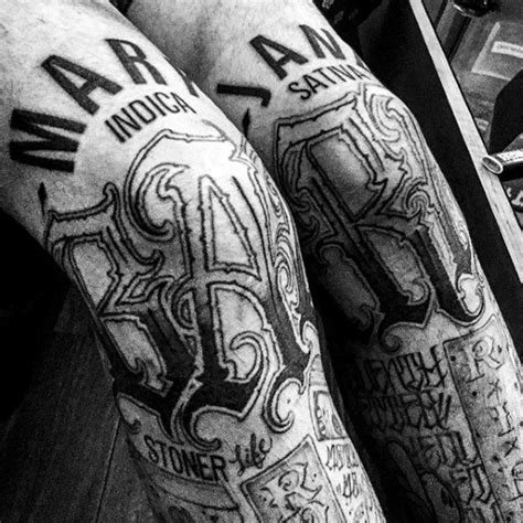knee tattoo lettering 90 knee tattoos for men cool masculine ink design ideas