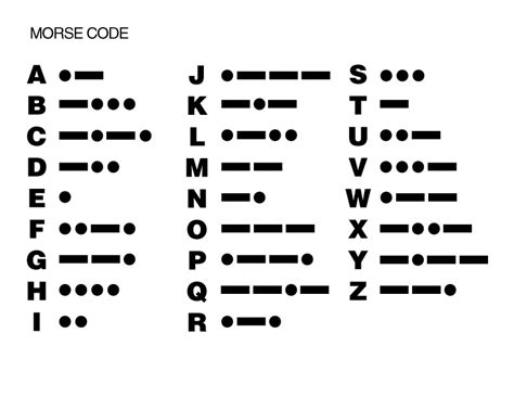 e is for explore morse code