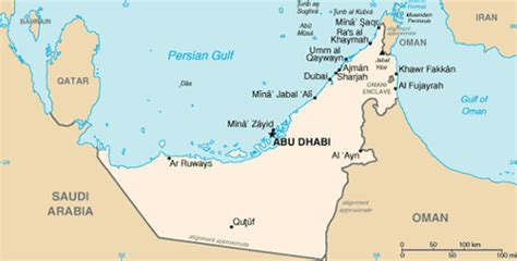 dubai geography map dubai geography information climate and weather in dubai